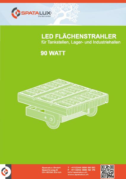 led fl chenstrahler tunnel 90 watt hochleistungchip. Black Bedroom Furniture Sets. Home Design Ideas
