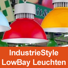 IndustrieSytle LowBay Leuchte